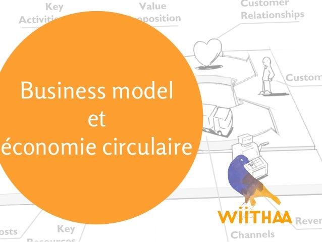 Business model et économie circulaire