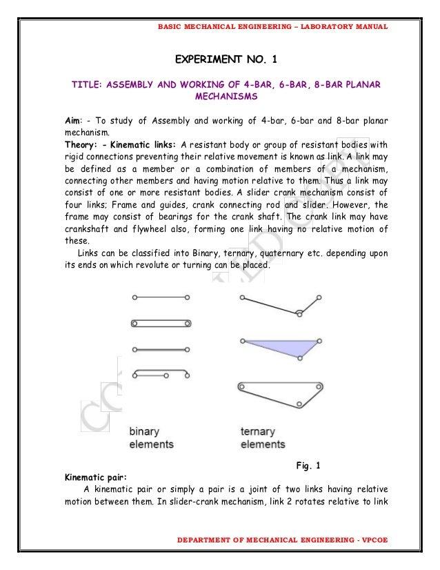 bme lab manual fe rh slideshare net Paper Engineering Lab Mechanical Engineering Lab for Teens