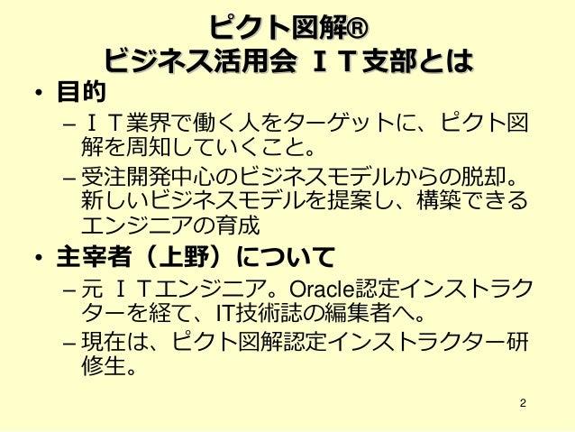 ①Bmg×ピクト図解 20140211 公開用 Slide 2