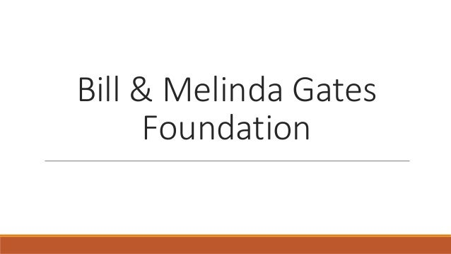 chapter 2 case study the bill and melinda gates foundation The silent epidemic perspectives of high school dropouts a report by civic enterprises in association with peter d hart research associates for the bill & melinda gates foundation.