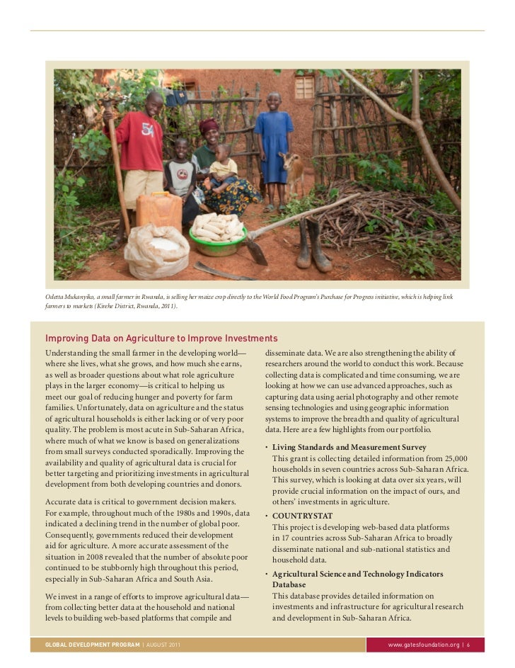 Odetta Mukanyiko, a small farmer in Rwanda, is selling her maize crop directly to the World Food Program's Purchase for Pr...