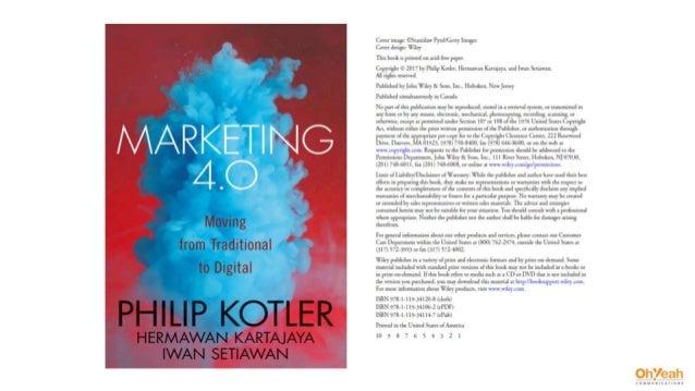 Marketing 4.0 - Philip Kotler - Jan 2017 / The Summary Deck Slide 2