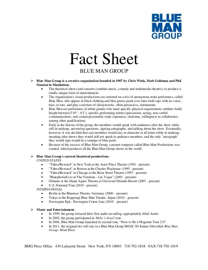 how to write a fact sheet sample