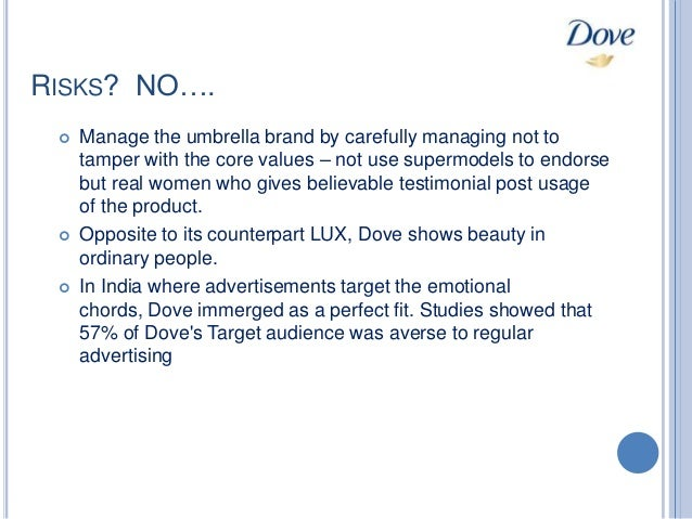 Dove stereotype and target audience