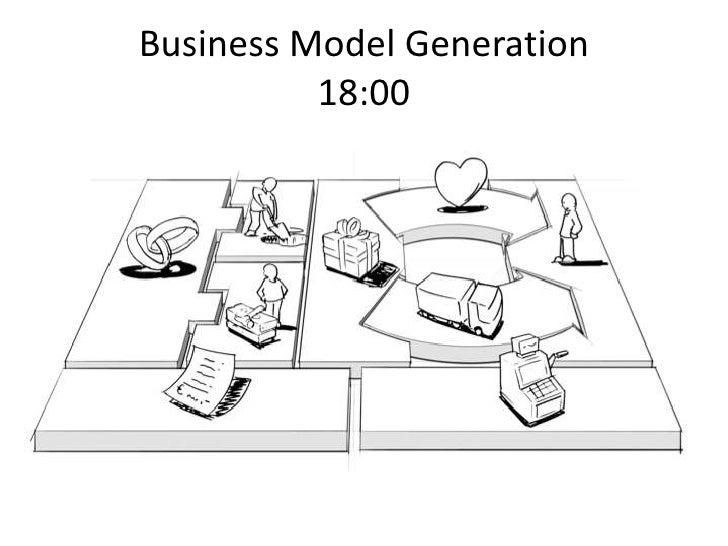 Business Model Generation18:00<br />