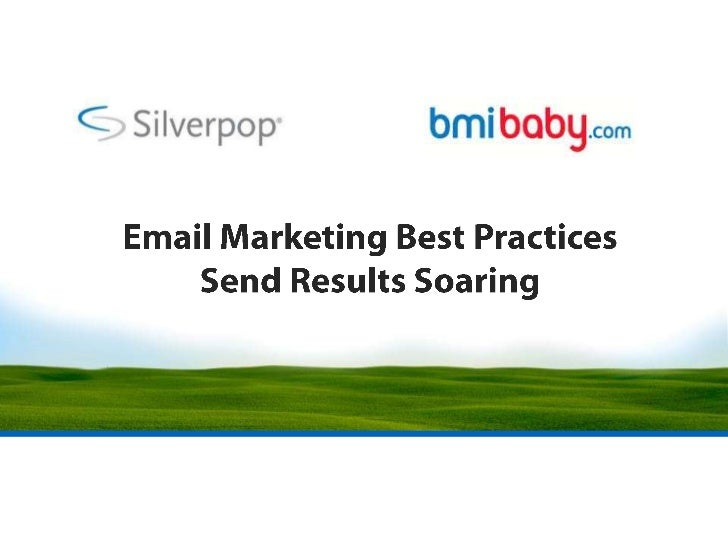 Email Marketing Best Practices Send Results Soaring<br />