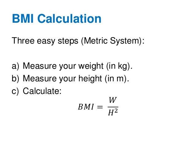 calculate bmi