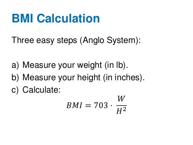 Calculate Body Mass Index