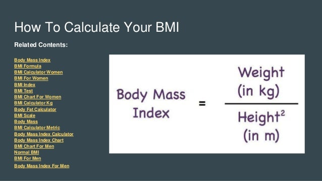 Bmi Calculator Calculate Bmi Bmi Calculator For Men