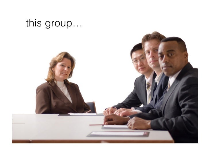this group…