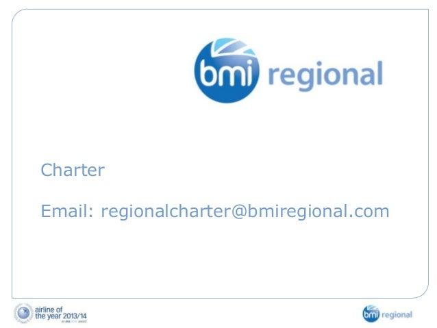 Charter  Email: regionalcharter@bmiregional.com