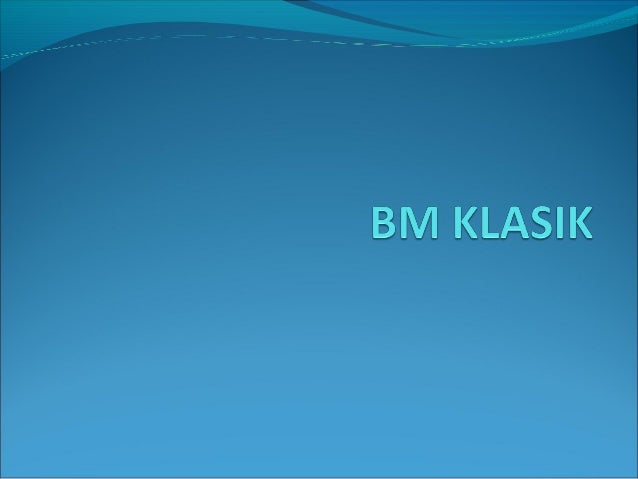 Bahasa Melayu Kuno digantikan dengan Bahasa Melayu Klasik. Peralihan ini dikaitkan dengan kedatangan agama Islam yang ke ...
