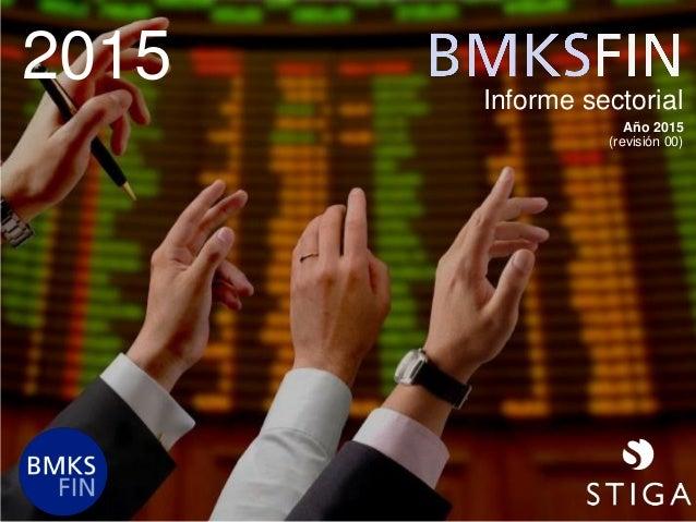 2015 Informe sectorial Año 2015 (revisión 00)