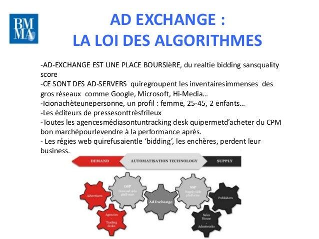 AD EXCHANGE :         LA LOI DES ALGORITHMES                                                                          10 l...