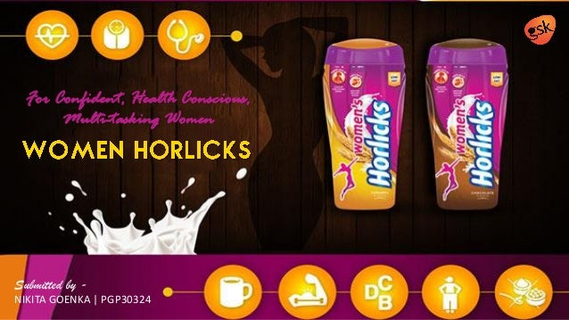 case study womens horlicks from gsk consumer