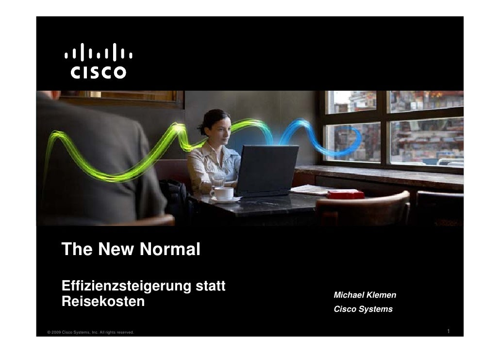 The New Normal        Effizienzsteigerung statt                                                   Michael Klemen        Re...