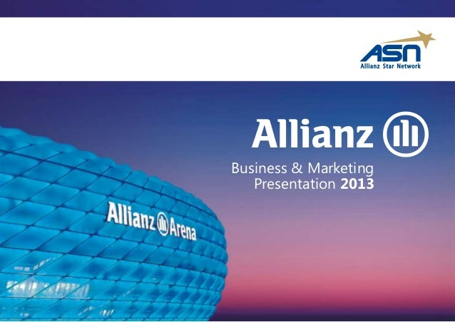 Business & MarketingPresentation 2013