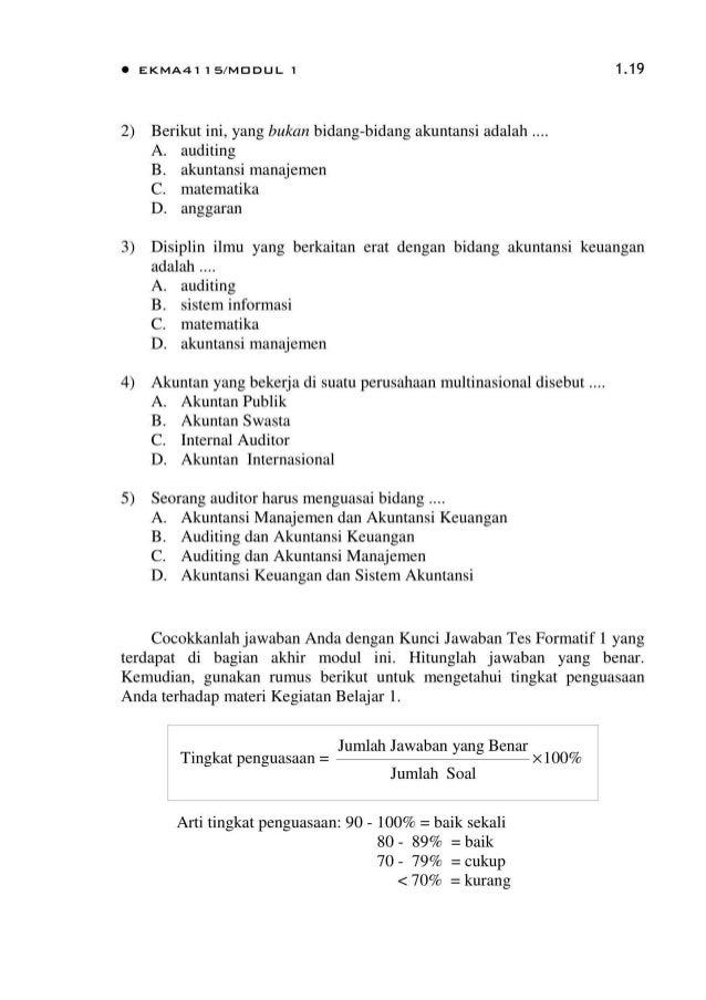 Contoh Soal Pengantar Akuntansi 1 Dan Jawabannya Pdf Ilmusosial Id