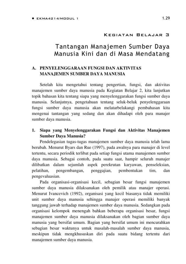 Bmp Ekma4214 Manajemen Sumber Daya Manusia
