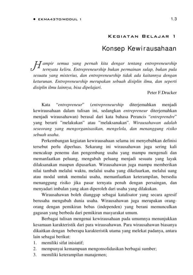 Bmp Ekma4370 Kewirausahaan