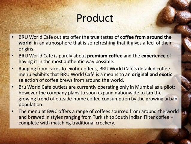 Bru world cafe essay