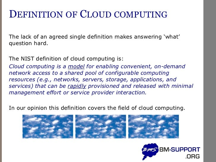 Disadvantages of cloud computing for Salon cloud computing