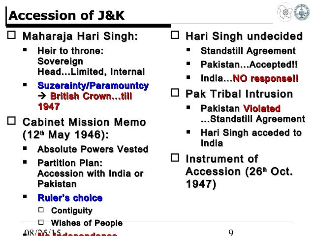 Seven myths on accession of jammu kashmir and article 370 accessionaccession 9 platinumwayz