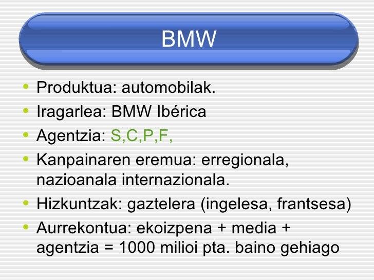 Bmw: eraginkortasun kasu borobila Slide 2