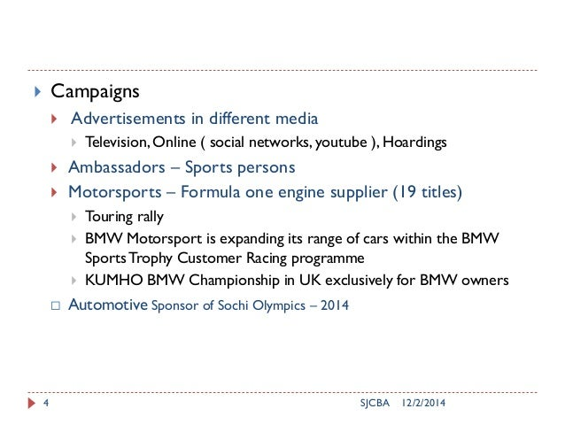 12/2/2014SJCBA4  Campaigns  Advertisements in different media  Television, Online ( social networks, youtube ), Hoardin...