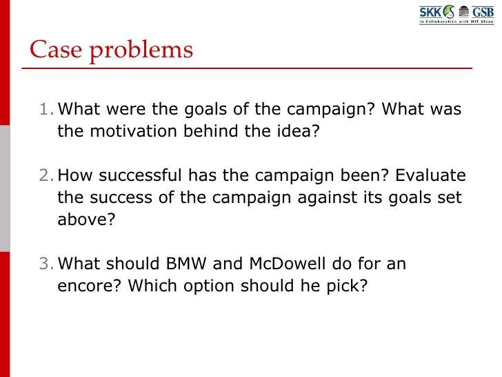 BMW Case Study Analysis