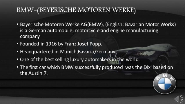 Marketing Management- BMW Case study - YouTube