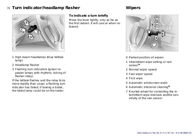 E39 Wipers Diagram - Schematics Online on