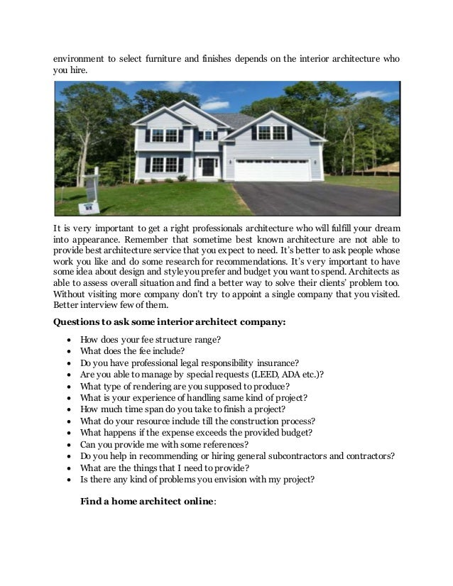 Finding a right architecture for dream home home plan ct for How to find good subcontractors