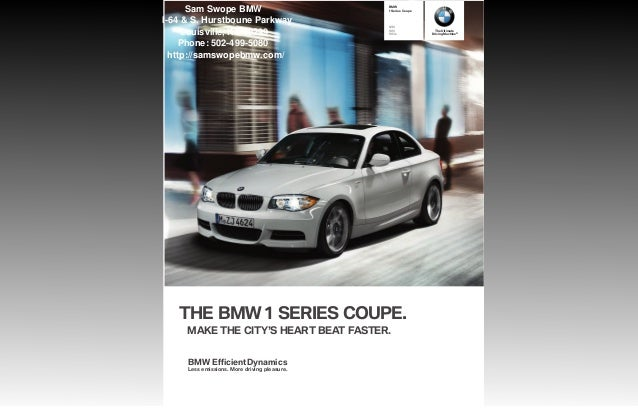 2013 bmw 1 series coupe brochure ky louisville bmw dealer. Black Bedroom Furniture Sets. Home Design Ideas