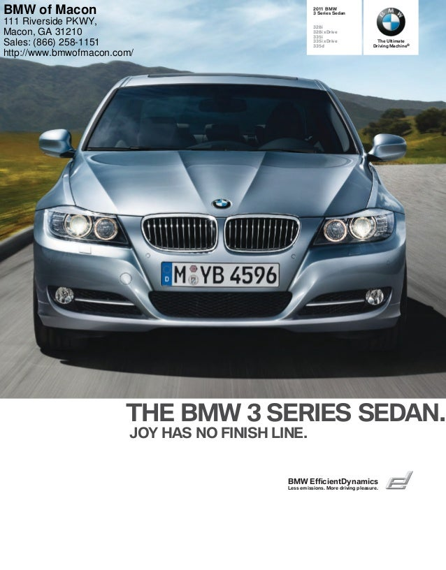  BMW  Series Sedan i i xDrive i i xDrive d THE BMW  SERIES SEDAN. JOY HAS NO FINISH LINE. The Ultimat...