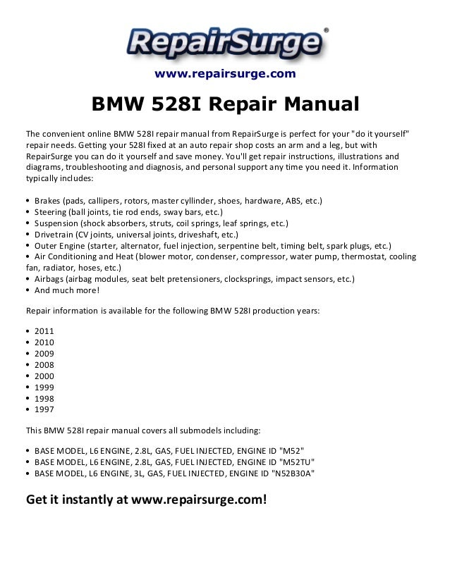 Marvelous On A 98 Bmw 528i Engine Diagram Gallery - Best Image ...