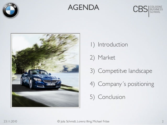 the analysis of bmw Analysis of the bmw group using tools like swot analysis, pest analysis and porter's value chain there is a slight focus on the asian market.