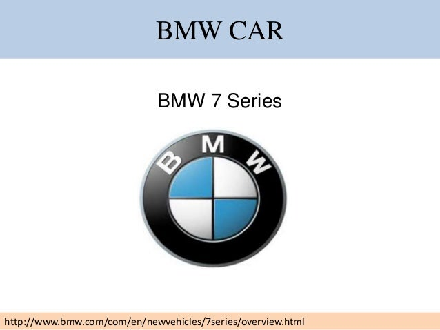 Details Of Repair And Services Of Bmw 7 Series Car