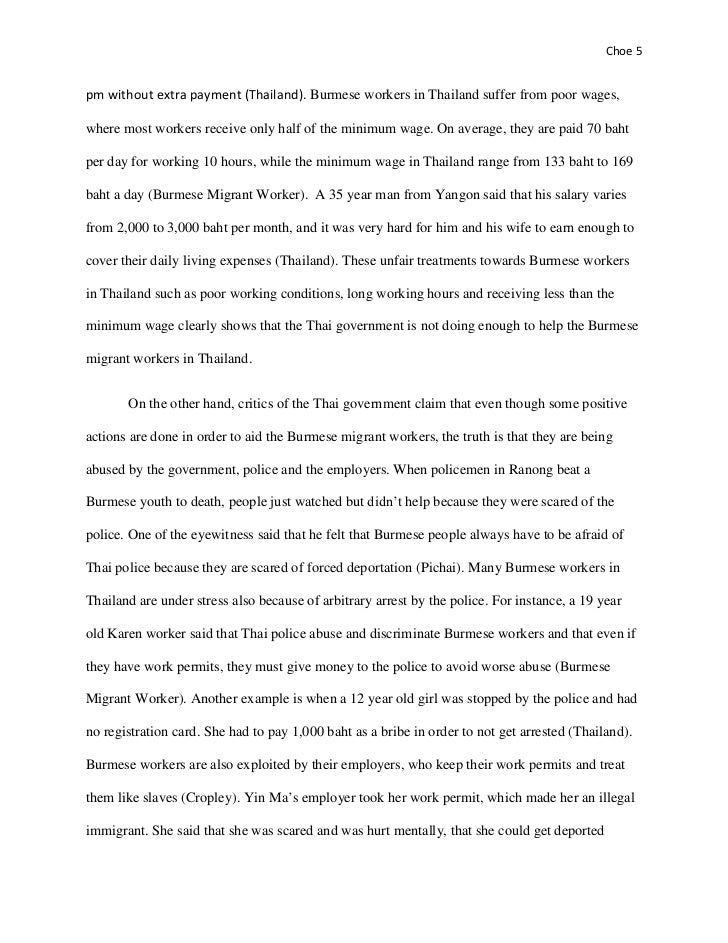 essay on raising minimum wage Raising the minimum wage: both sides of the coin document outline 1) introduction 2) minimum wage history and facts 3) arguments for an increase in the minimum wage.