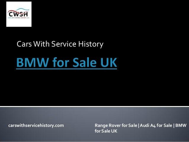 Bmw for sale UK Slide 2