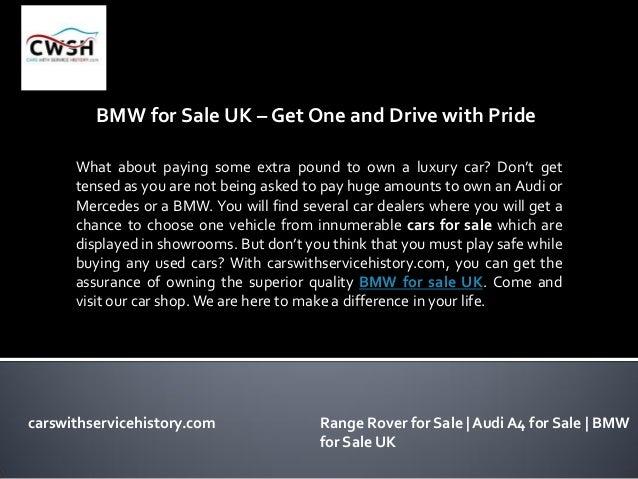 Bmw for sale UK Slide 3