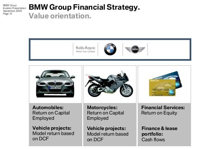 Bmw Investor Presentation