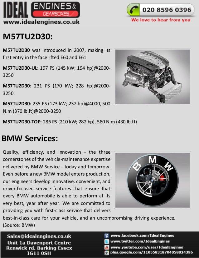 BMW M57d30 Engine