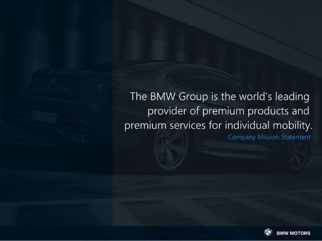 Media Strategy: BMW Slide 3