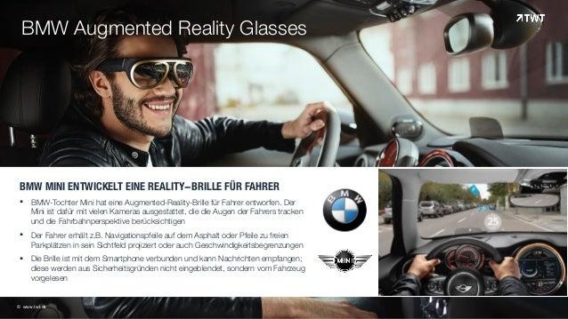 BMW MINI ENTWICKELT EINE REALITY-BRILLE FÜR FAHRER § BMW-Tochter Mini hat eine Augmented-Reality-Brille für Fahrer entwor...