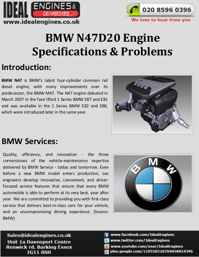 BMW N47D20 Engine