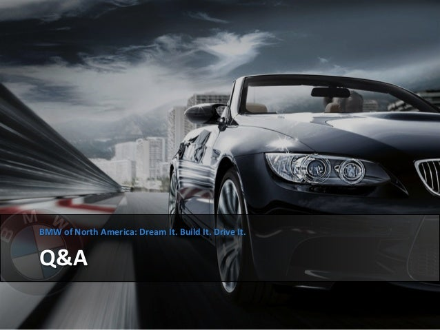 bmw automobiles case study analysis