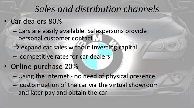 Central distribution for BMW