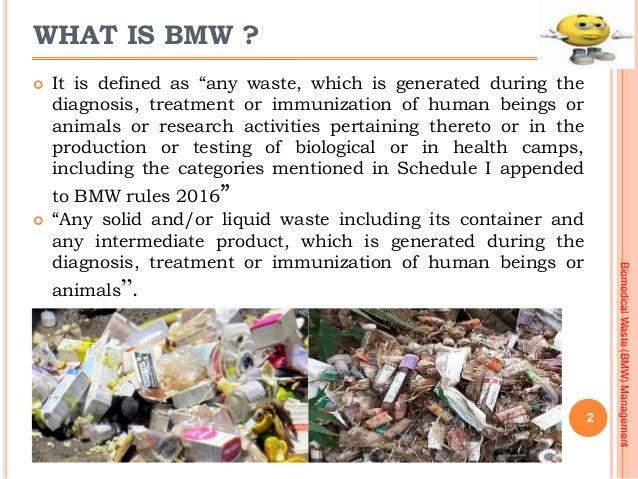Bio Medical Waste Management Presentation 2016 Slide 2