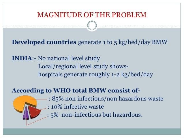 BIO MEDICAL WASTE MANAGEMENT & HANDLING RULE Slide 3